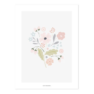 Bouquet With Stems Poster | Bloom | Lilipinso