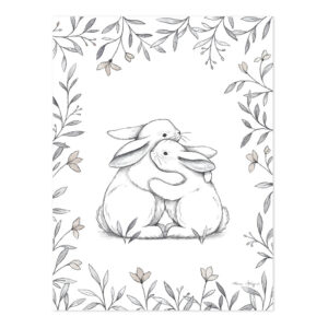 Bunny Loves You Poster | Lilipinso