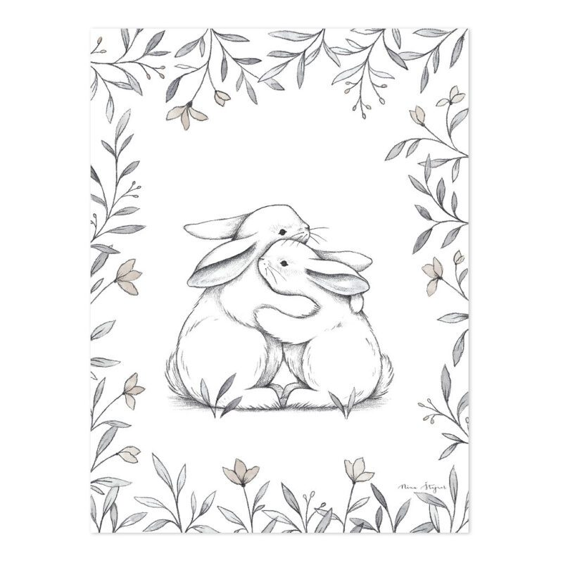 Bunny Loves You Poster   Lilipinso