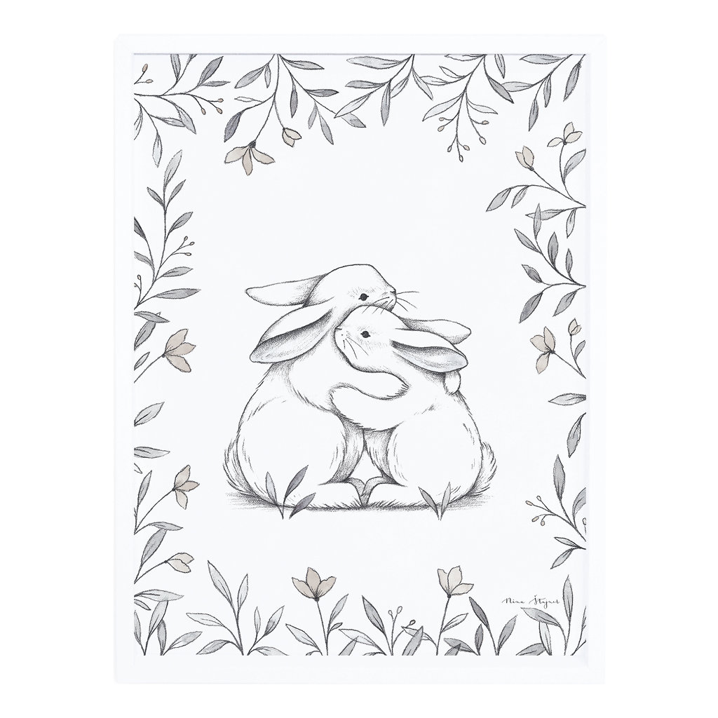 Bunny Loves You Poster Met Lijst Lilipinso lili-p0251