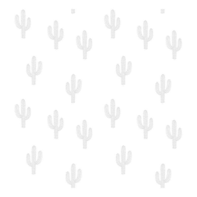 Cactus Grey Behang   Wild West   Lilipinso