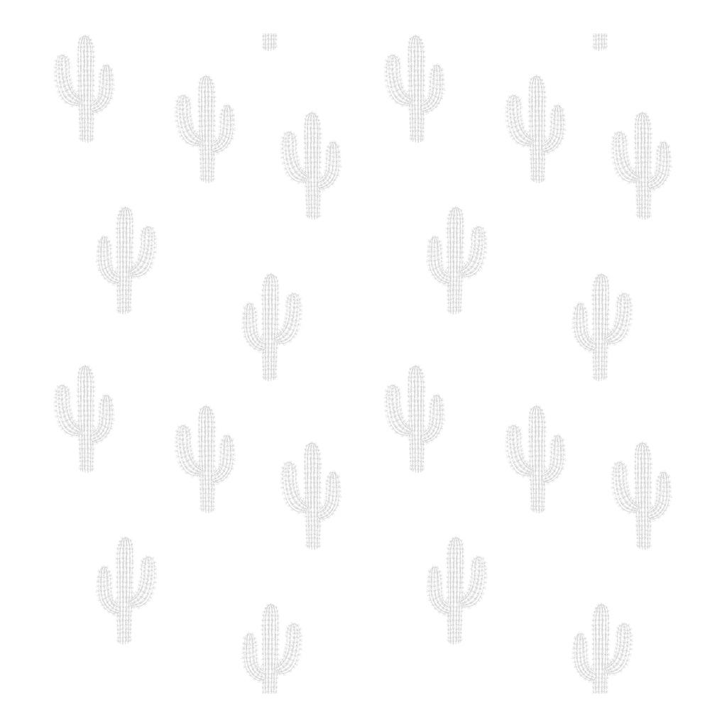 Cactus Grey Behang | Wild West | Lilipinso