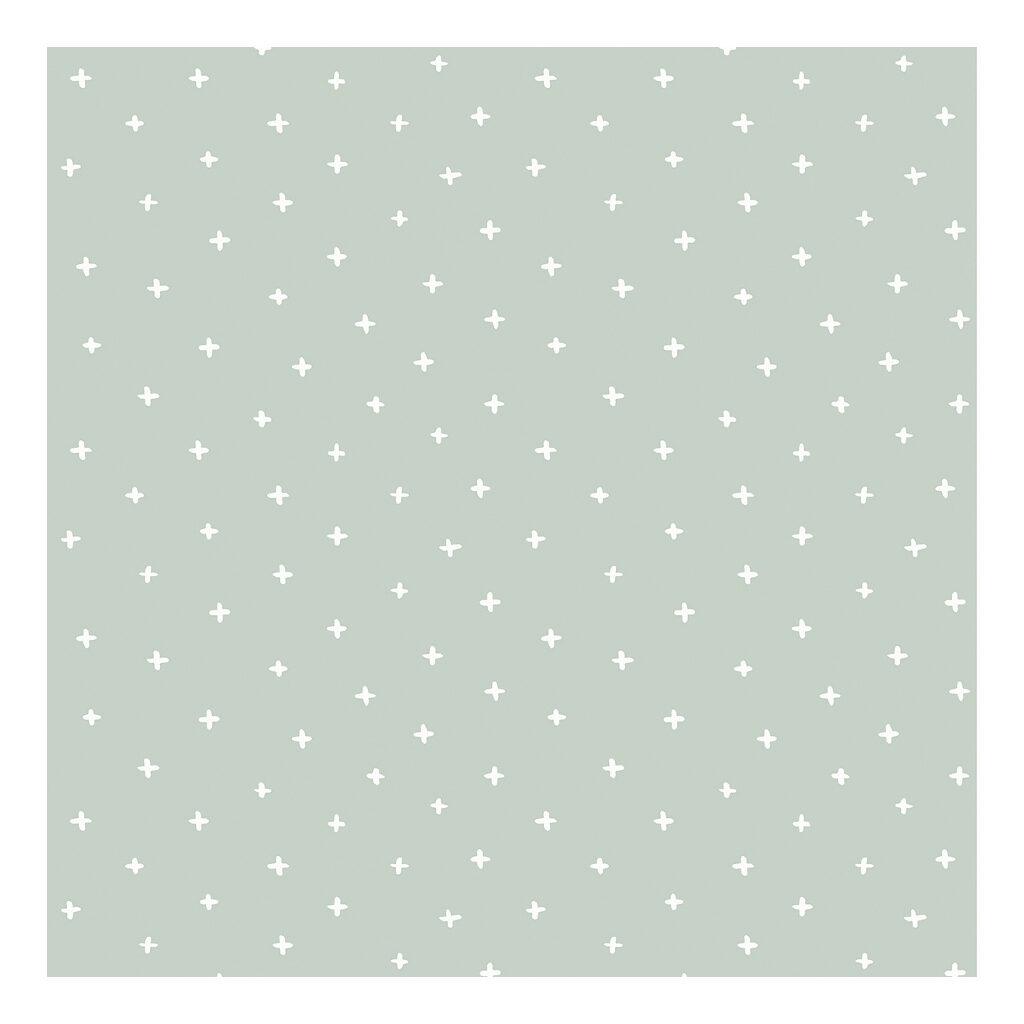 Crosses White Background Green Behang   Australia   Lilipinso