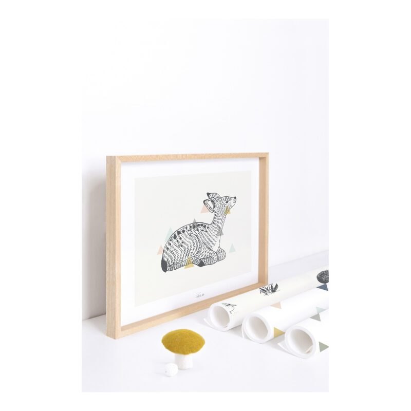 Deer Poster Enchanted Kinderkamer Lilipinso lili-p0261