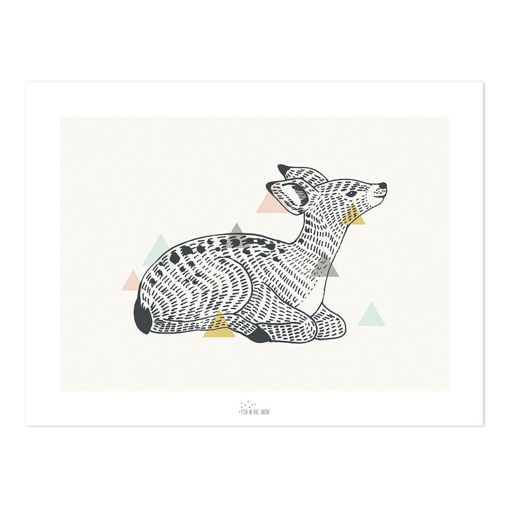 Deer Poster | Enchanted | Lilipinso