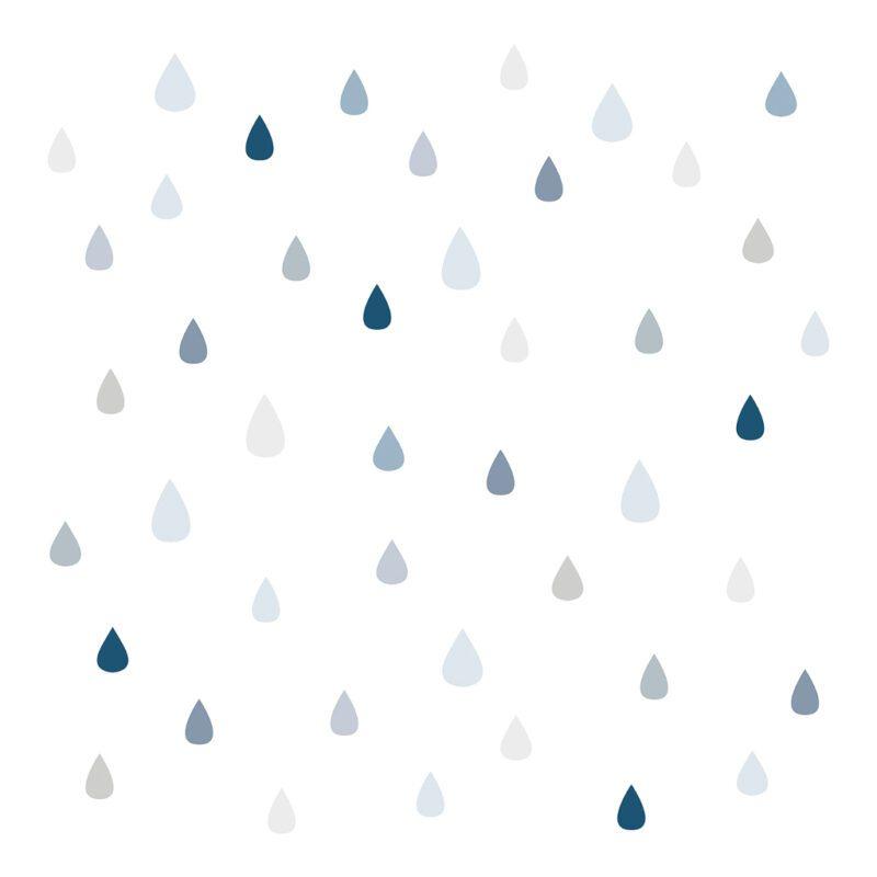 Drops Behang | Wild Islands | Lilipinso