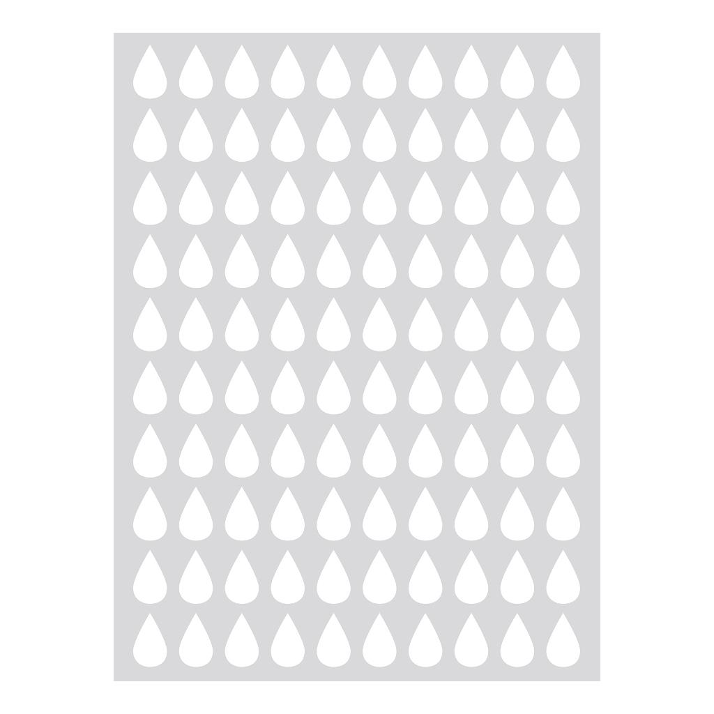 Drops White Sticker 18X24Cm | Hello Little | Lilipinso