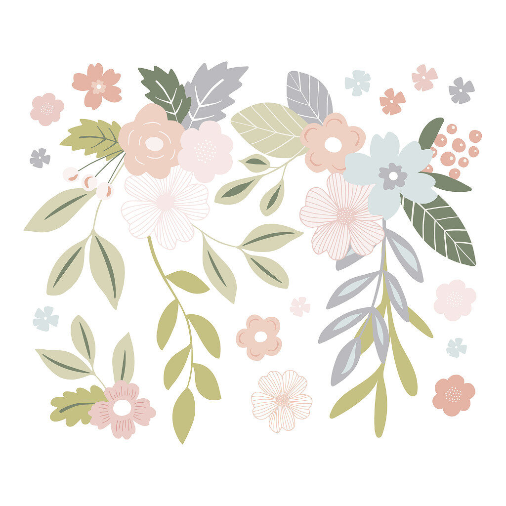 Flowers Big Ones Sticker Xl | Bloom | Lilipinso
