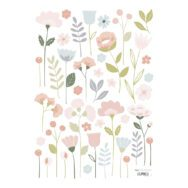 Flowers Stems Muursticker A3 | Bloom | Lilipinso