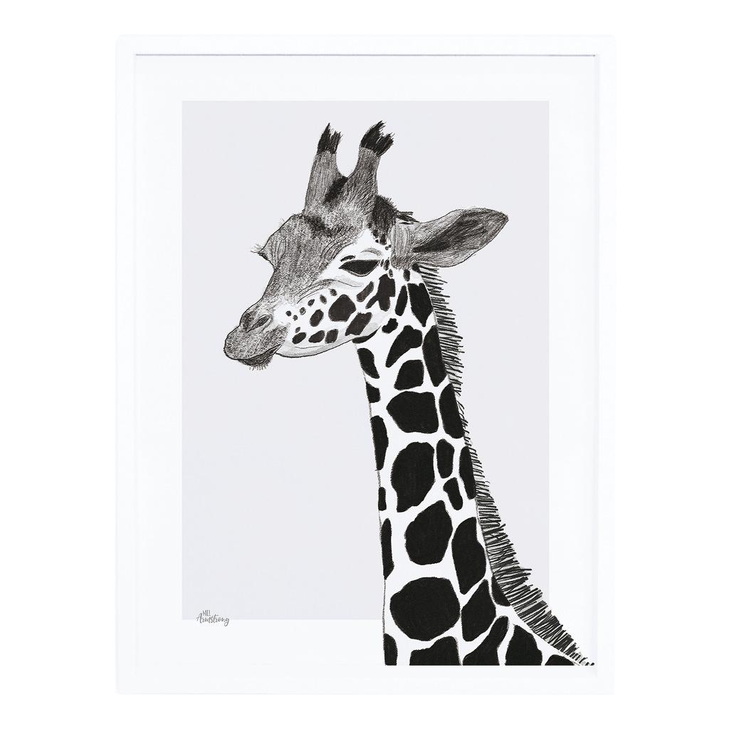 Giraffe Poster Met Lijst Serengeti Lilipinso lili-p0265