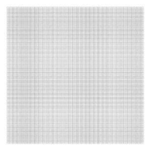 Grid Black On White 0.5Cm Behang | Millimétré | Lilipinso