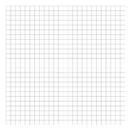 Grid Black On White 2Cm Behang | Millimétré | Lilipinso