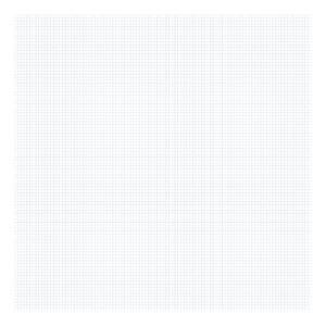 Grid Blue On White 0.5Cm Behang | Millimétré | Lilipinso