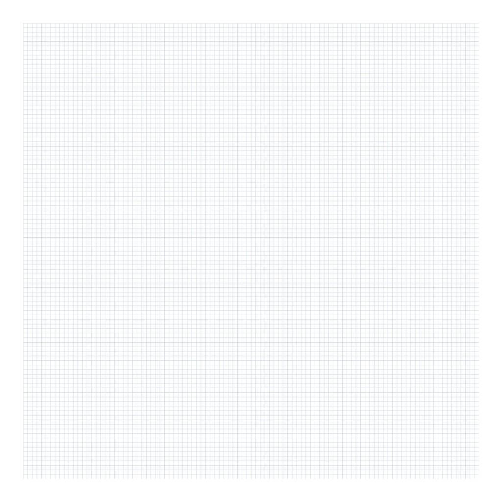Grid Blue On White 0.5Cm Behang   Millimétré   Lilipinso