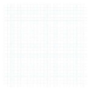 Grid Blue On White 2Cm Behang | Millimétré | Lilipinso