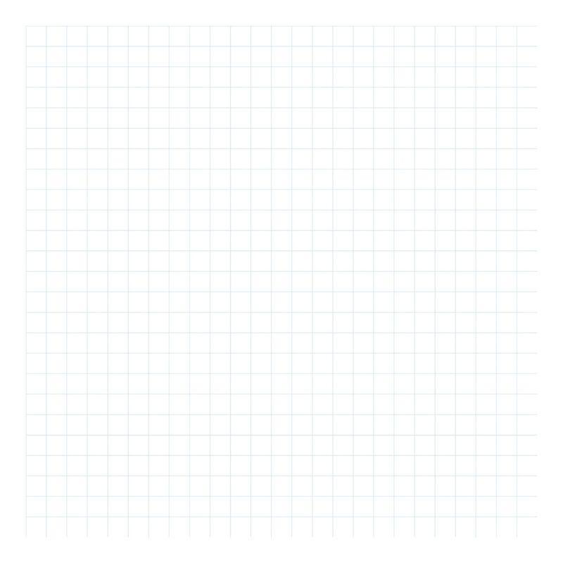 Grid Blue On White 2Cm Behang   Millimétré   Lilipinso
