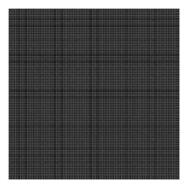 Grid White On Black 0.5Cm Behang   Millimétré   Lilipinso