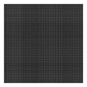 Grid White On Black 0.5Cm Behang | Millimétré | Lilipinso