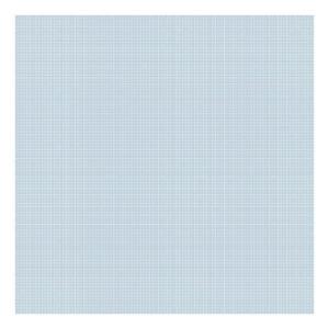 Grid White On Blue 0.5Cm Behang | Millimétré | Lilipinso