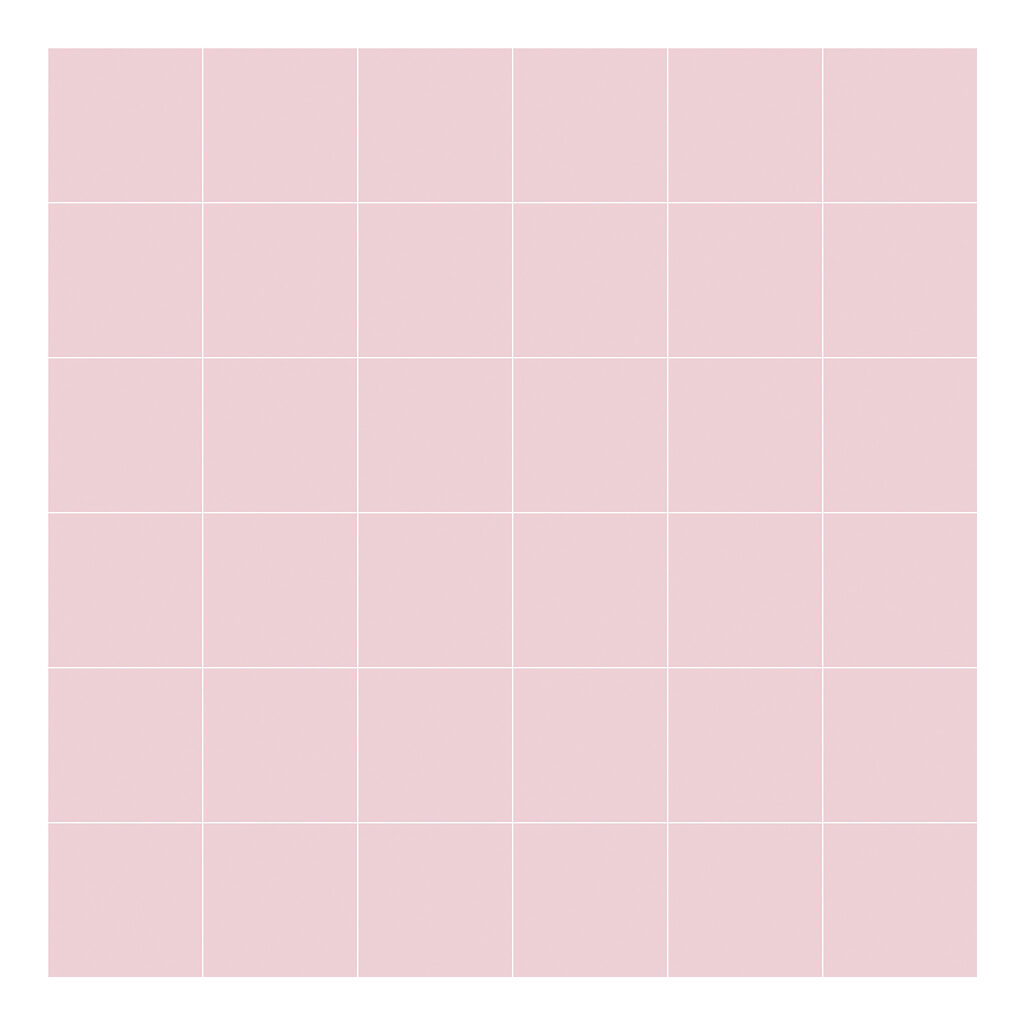 Grid White On Pink 8Cm Behang | Millimétré | Lilipinso