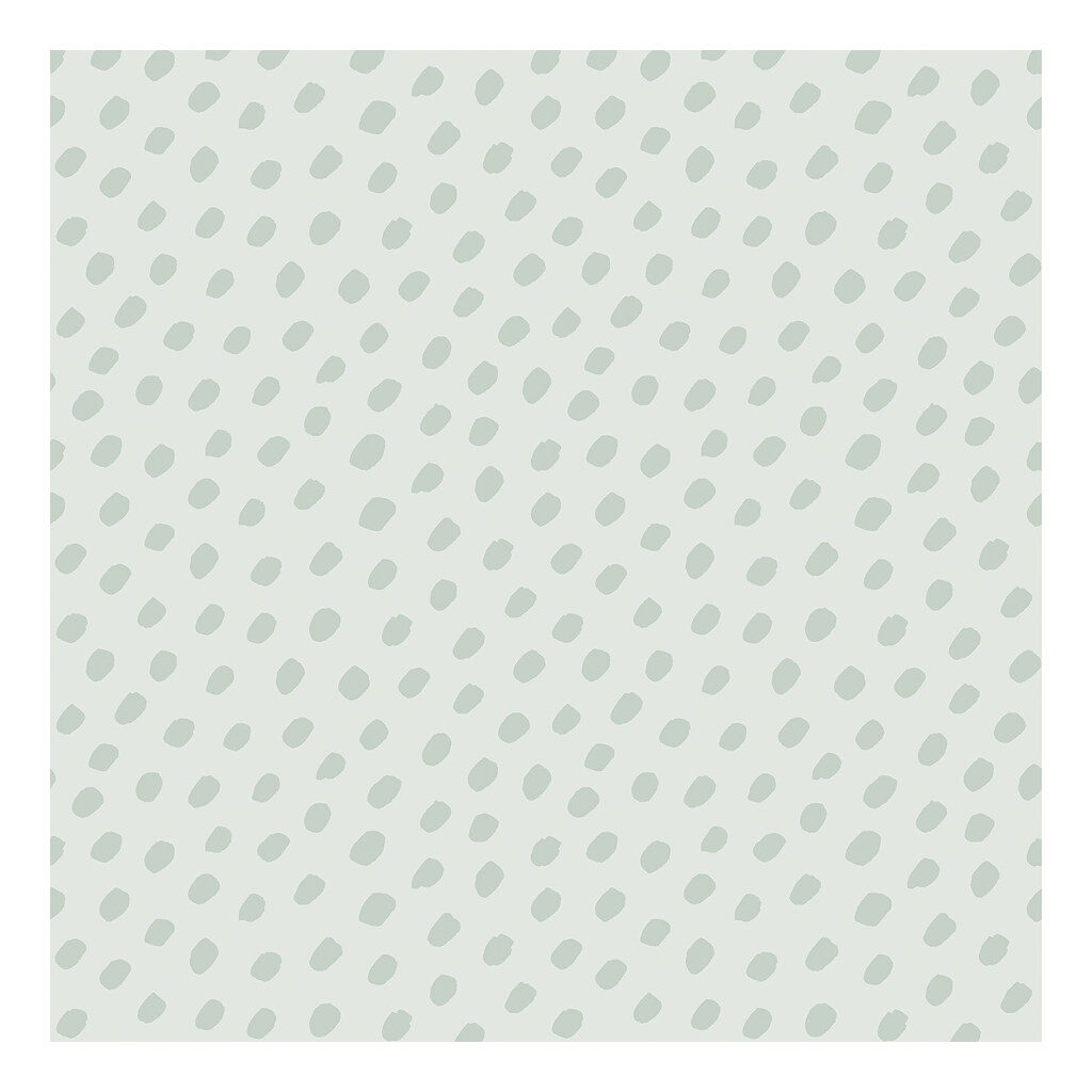 Hand Dots Green Background Green Behang | Australia | Lilipinso