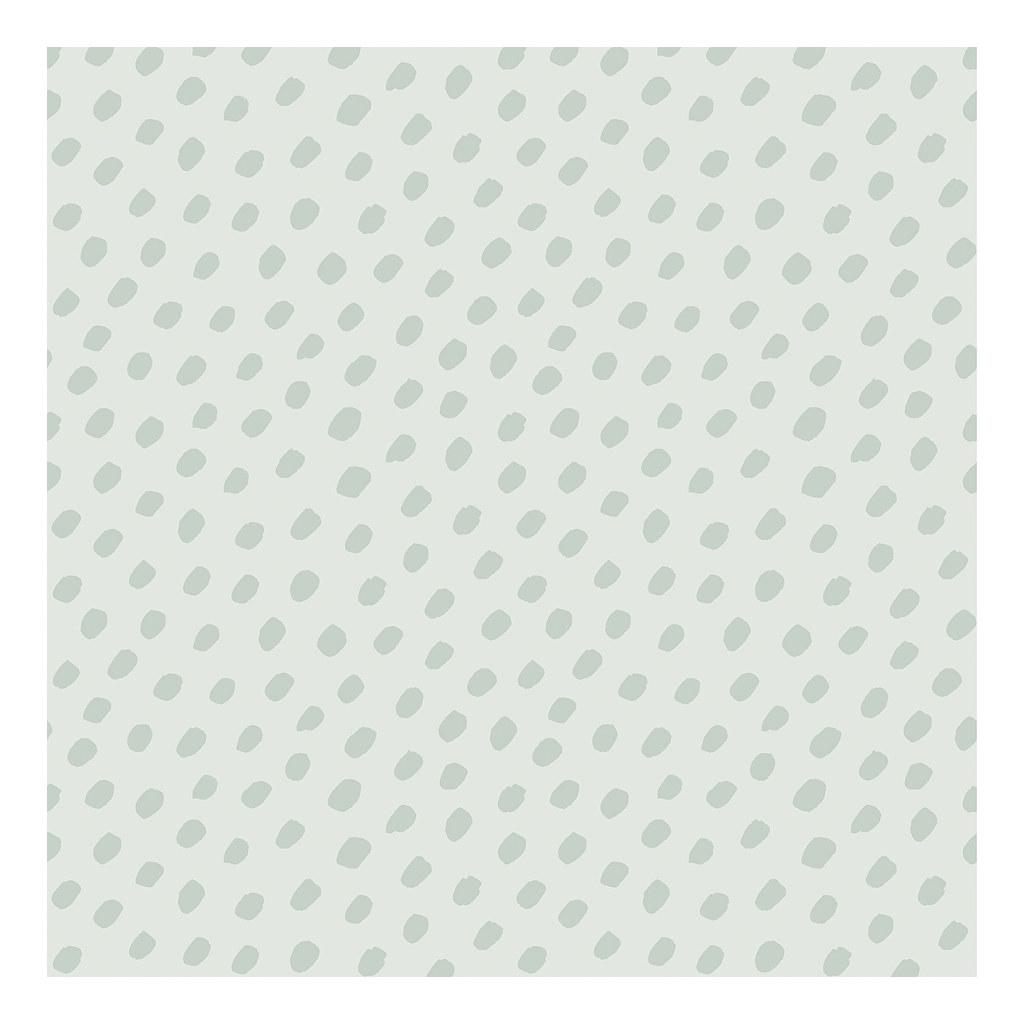 Hand Dots Green Background Green Behang | Australia | Lilipinso