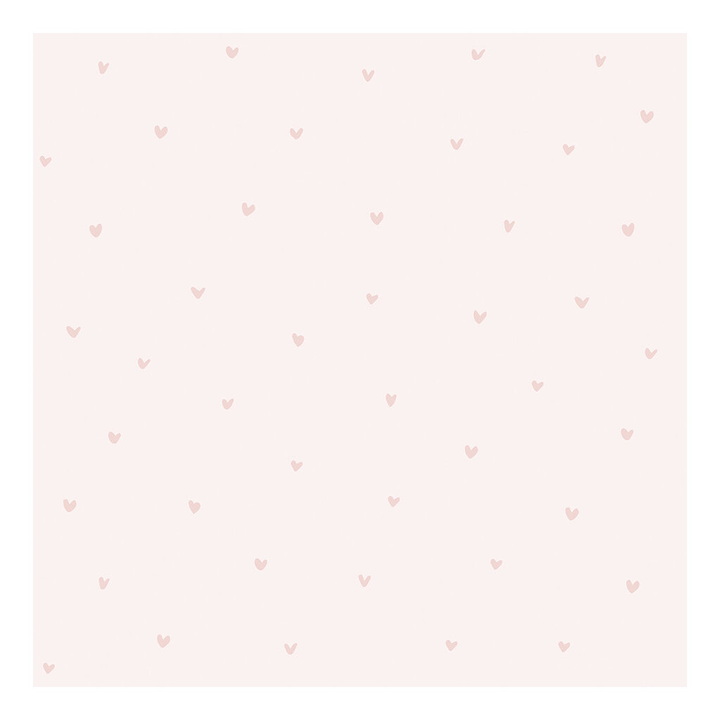 Hearts Pink Background Pink Behang | Retro Bubble | Lilipinso