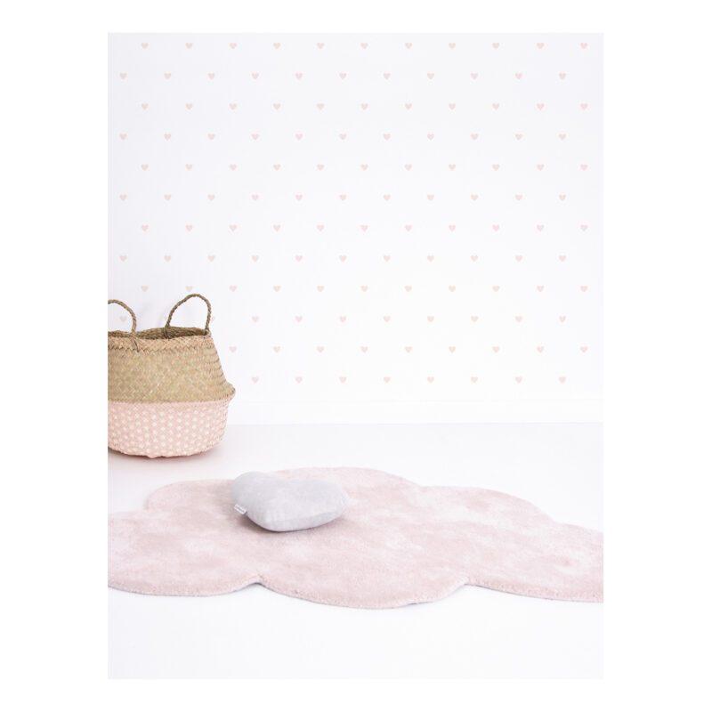 Hearts Pink Sticker 18X24Cm | Hello Little | Lilipinso
