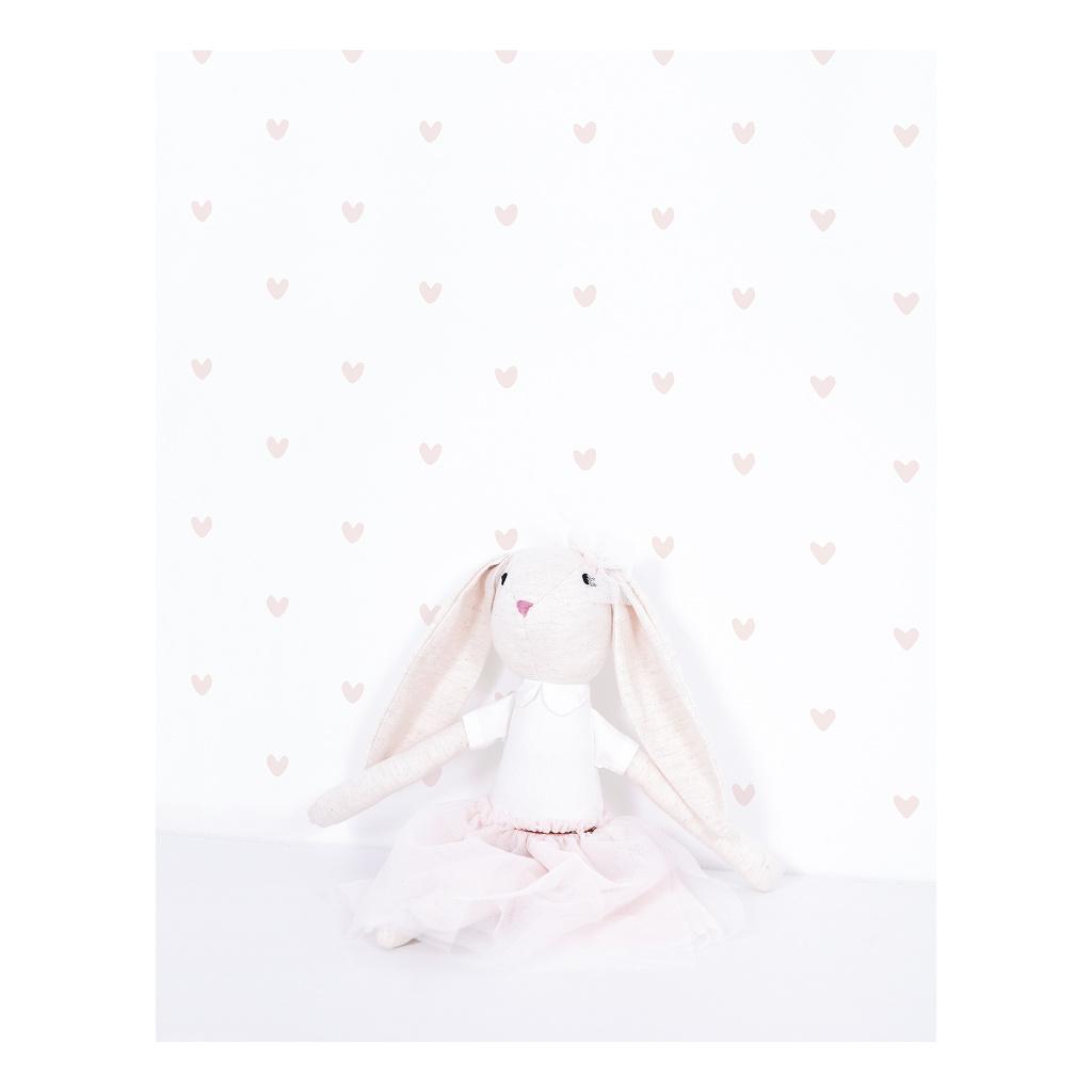 Hearts Pink Sticker 18X24Cm | Retro Bubble | Lilipinso