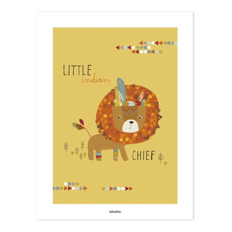 Indians The Little Chief Poster   Little Indians   Lilipinso