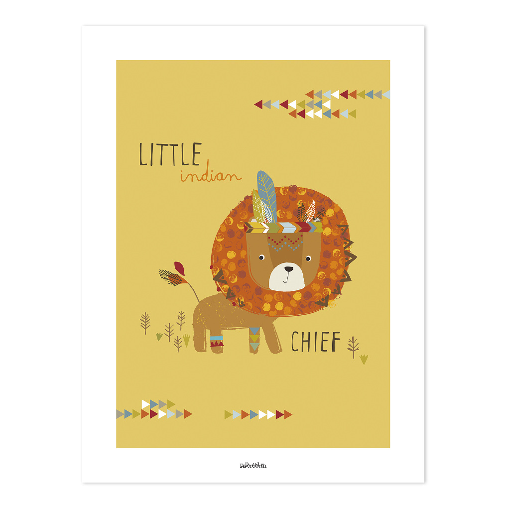 Indians The Little Chief Poster | Little Indians | Lilipinso