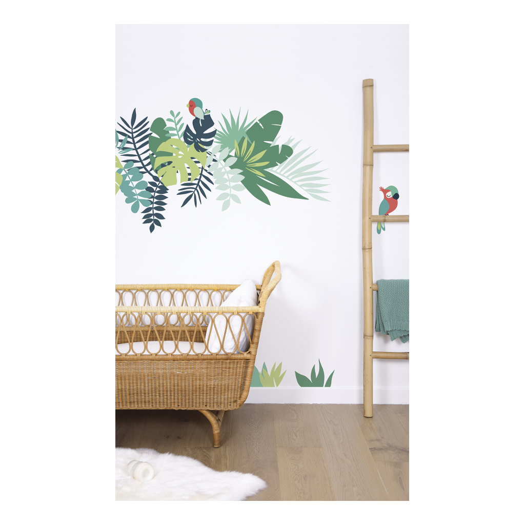 Leaves Tropical Decor 01 Sticker Xl | Lilipinso