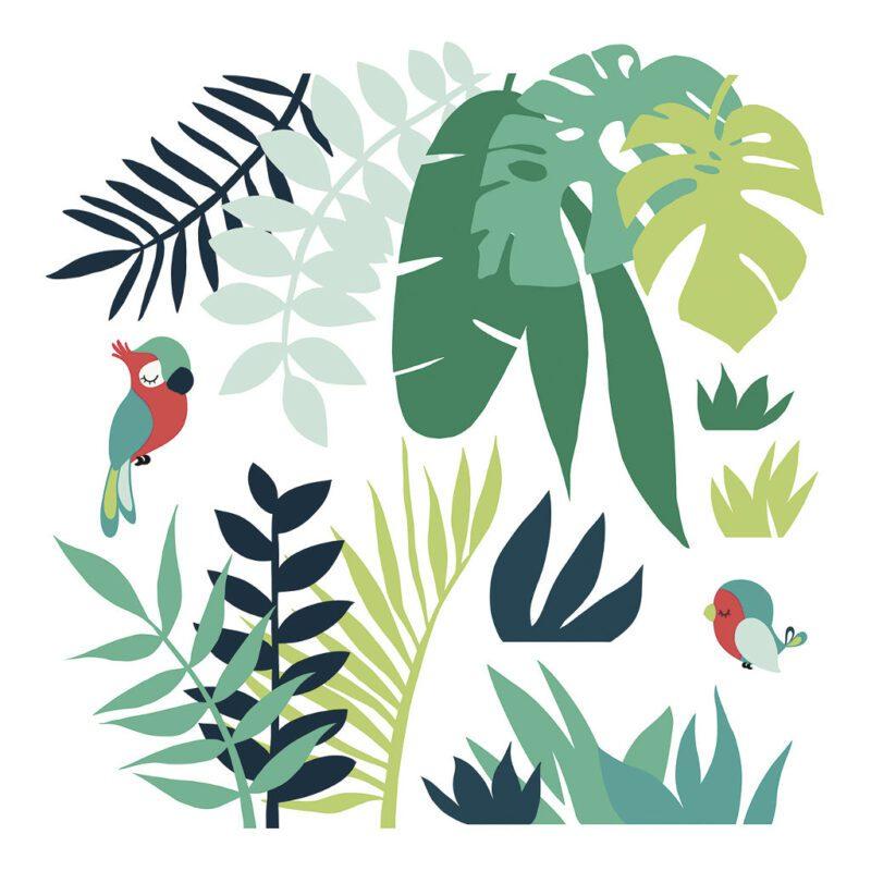 Leaves Tropical Decor 02 Sticker Xl   Lilipinso