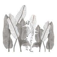 Leopard & Leaves Sticker Xl | Serengeti | Lilipinso