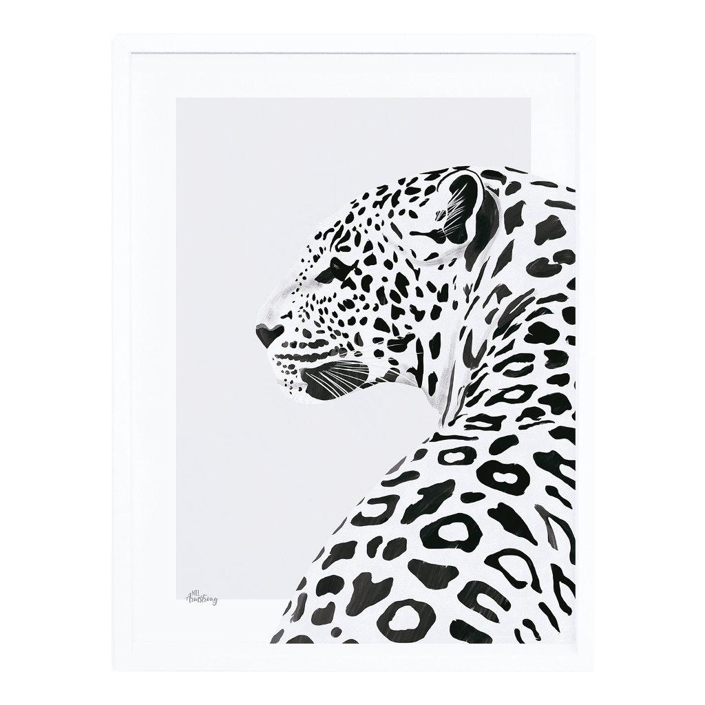Leopard Poster Met Lijst Serengeti Lilipinso lili-p0266