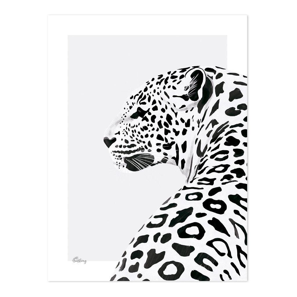 Leopard Poster   Serengeti   Lilipinso