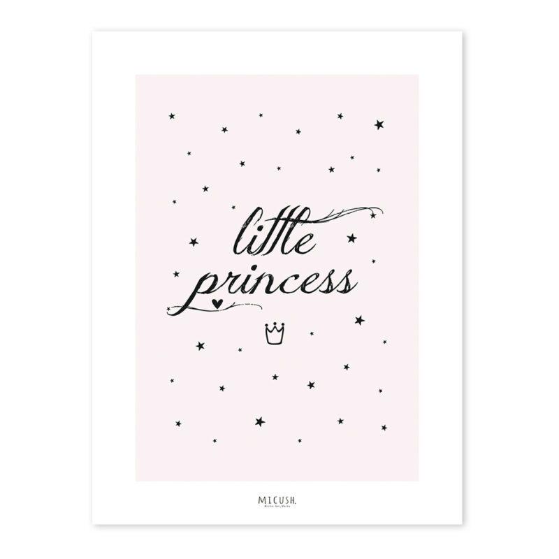 Little Princess Poster Lilipinso Kleine Prinses Lijst Schilderij QIDDIE.com lili-P0213c lili-0213-zl