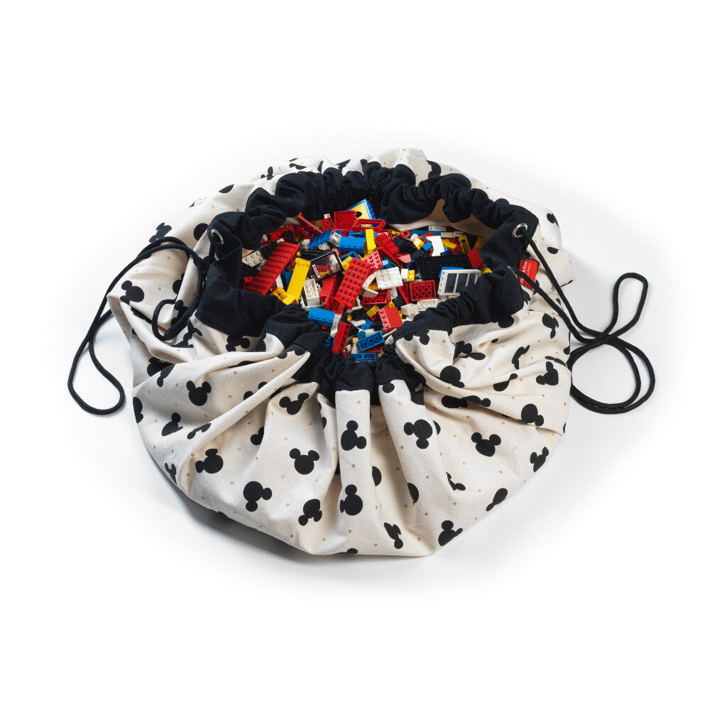 Mickey Black Play And Go Disney Mouse Opbergzak Speelkleed Play And Go Play-180799835