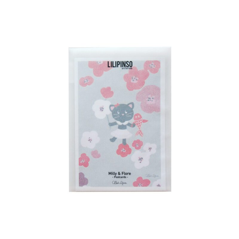 Milly & Flore Ansichtkaart Set LilipinsoVerpakking lili-p0127