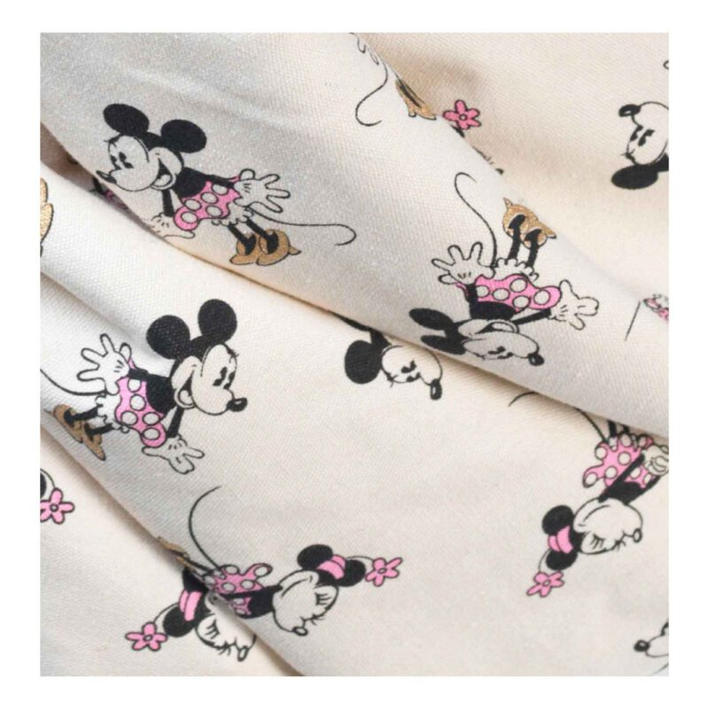 Minnie Gold Play And Go Patroon Roze Vrolijk Minny Mouse Play And Go Play-180799842