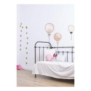 Pink Balloons With Gold Dots Sticker Xl Flamingo Lilipinso Strik Touw Patroon Lili-S1044