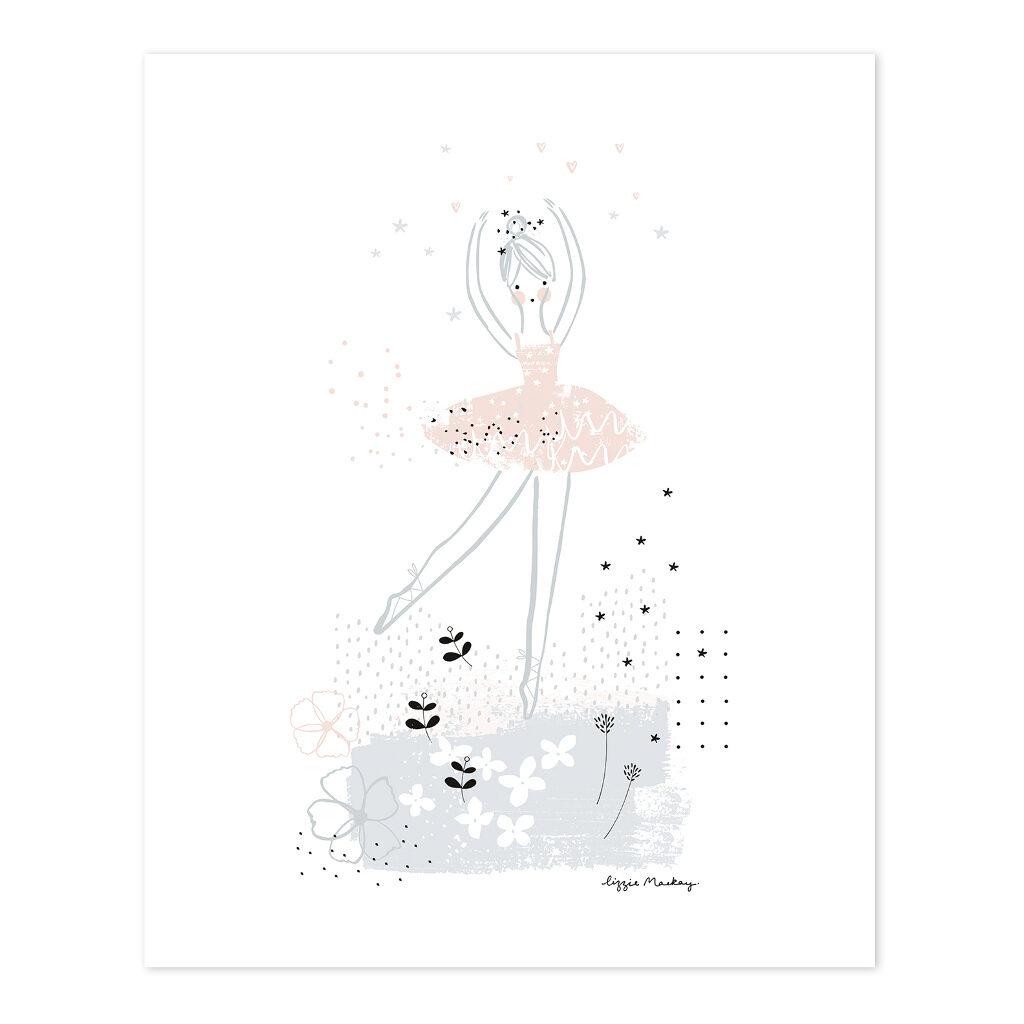 Pirouette Poster Ballerina Lilipinso Lili-P0203 1024X1024