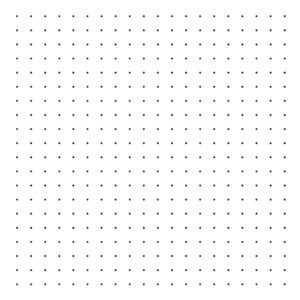 Polka Dots Black On Background White Behang | Millimétré | Lilipinso