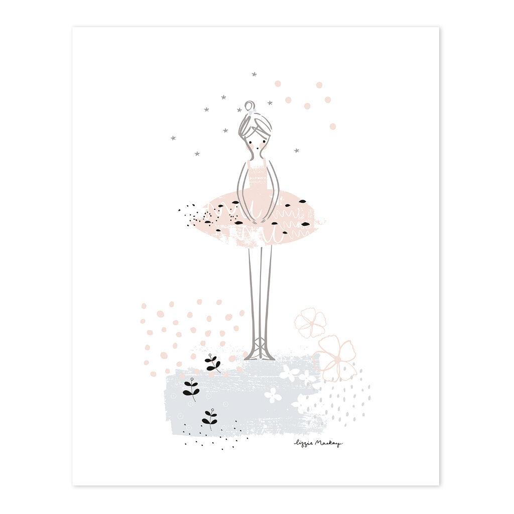 Prima Ballerina Poster Lilipinso Lili-P0202 1024X1024