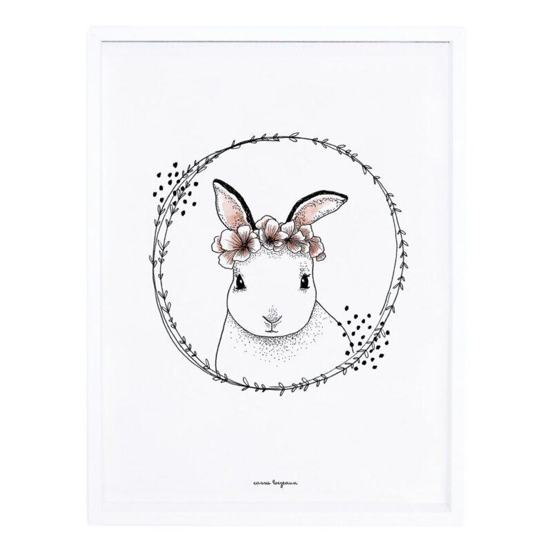 Rabbit Poster Meadow Treasure Lilipinso Met Lijst Lili-P0219
