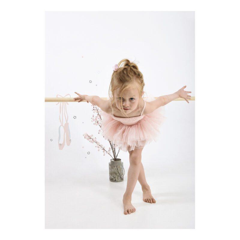 Shoes Muursticker A3 Lilipinso Meisje Dans Ballerina Lili-S1130