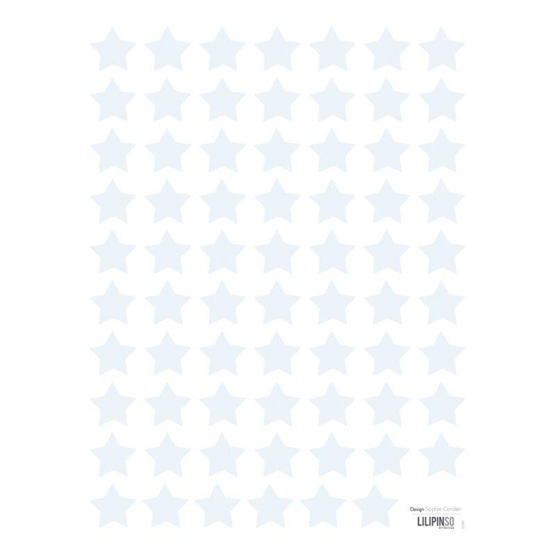 Small Stars Blue Sticker 18X24Cm | Hello Little | Lilipinso