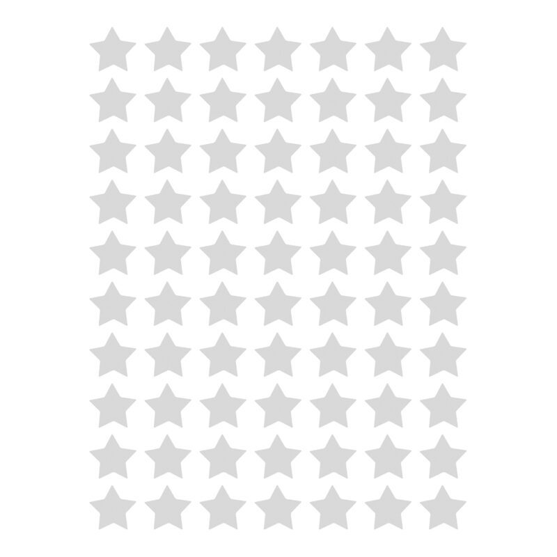 Small Stars Grey Sticker 18X24Cm | Hello Little | Lilipinso