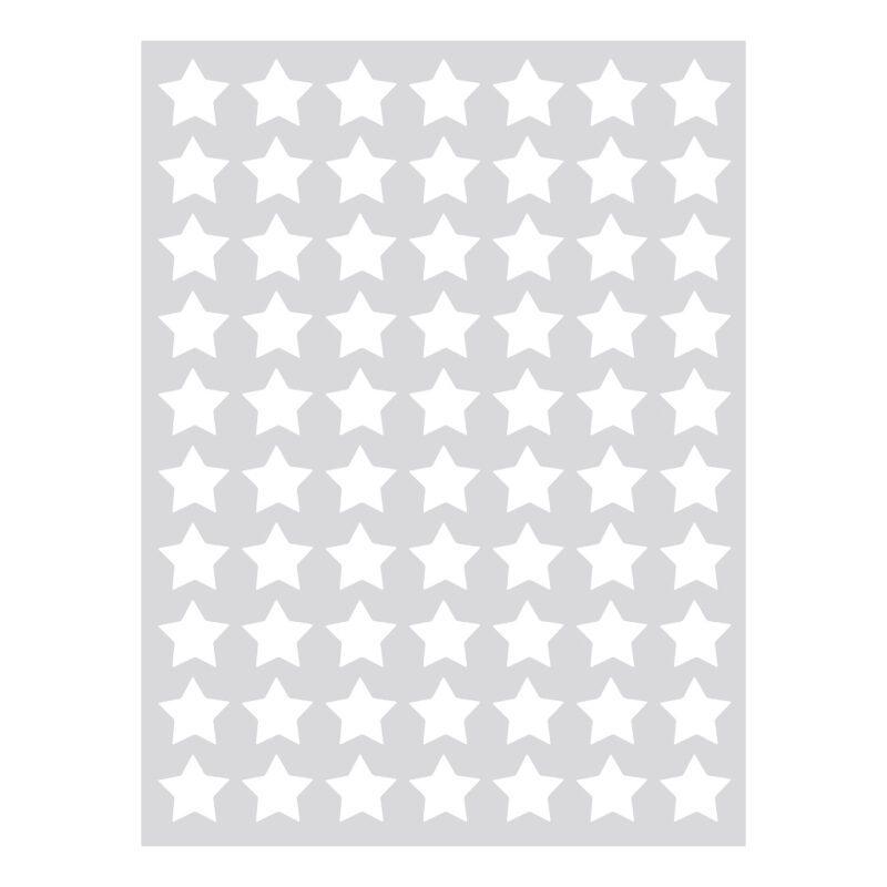 Small Stars White Sticker 18X24Cm | Hello Little | Lilipinso