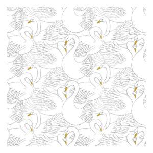 Swans Behang | Botany | Lilipinso